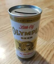 Vintage Little Oly Olympia Beer Bank Top Beer Can 7 oz Vf!