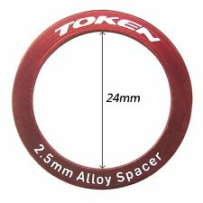 Bottom Bracket Part Alloy Spacer Φ24x2.5 mm TOKEN