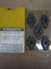 KENNAMETAL INDEXABLE INSERTS KC910 5PCS 2452-4461 (IK0494)