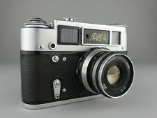 APPAREIL PHOTO FED RUSSIAN CAMERA URSS FED 4 - 2,8 / 52 LENS ARGENTIQUE CAMERA