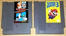 SUPER MARIO BROS 1 & 3 DUCK HUNT Nintendo NES GAME Cartridge original vintage