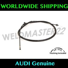AUDI A4 S4 A5 S5 B8 Hood Release Cable Bowden Cable New Genuine 8T1823535