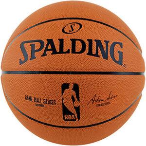Official Spalding NBA Game Ball Replica Basketball Size 7 Outdoor Durable Rubber