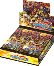 Buddyfight Triple D Dragon Fighters Climax Booster Display Sealed