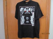 STAR WARS ANGRY BIRDS black tee shirt ~Men's Size LARGE~New