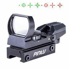 20mm Rails Reticle Tactical Reflex Red Green Dot Holographic Sight Scope.