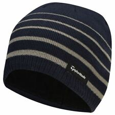 49c9a8303d0 TaylorMade 2019 Thermal Fleece Stripe Beanie Knitted Mens Golf Hat
