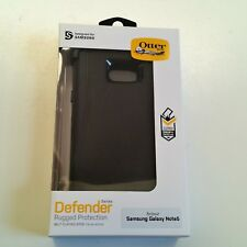Genuine OtterBox Defender Phone Case Samsung Galaxy Note 5 Belt Clip Holster NEW