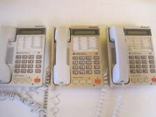 LOT OF 3 PANASONIC CORDED TELEPHONE KX-T2365 BUSINESS PHONE 14 BUTTON SPEAKER