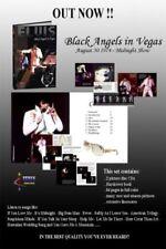 ELVIS - BLACK ANGELS IN VEGAS - VENUS 60 PAGE BOOK/ 2 CD SET - New & Sealed
