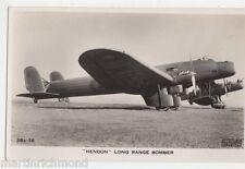 Hendon Long Ranger Bomber RP Postcard, B550