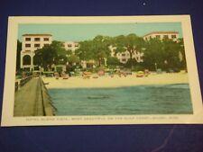 Hotel Buena Vista Highway 90 Biloxi Mississippi Vintage Colorful Postcard PC6