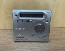 Vintage Genuine Sony Walkman MZ-G755 Minidisc Player- FM/AM- Recording- Working