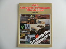 Brochure CHRYSLER PLYMOUTH 1979 en anglais