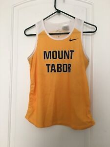 Mount Tabor Spartans Dri-Fit Women's ActiveWear Tank Top Sz S Jersey