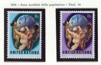19116) UNITED NATIONS (New York) 1974 MNH** World Population Year