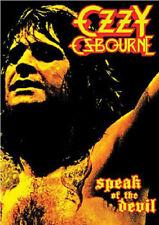 Ozzy Osbourne: Speak of the Devil DVD (2016) Ozzy Osbourne cert E ***NEW***