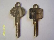 Mercury OEM Vintage key blanks 1961-64