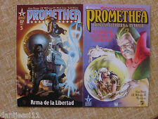 Promethea/Números 5 y 6/ America´s Best Comics/ World Comics/ Alan Moore/ 2000