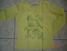 T-shirt jaune citron – 12 ans