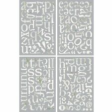 BasicGrey Oliver Chip Stickers, ABC's