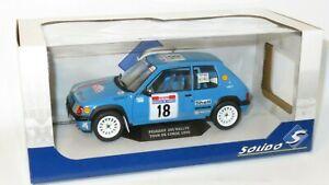 1/18 Peugeot 205 Rallye  Rally de France Tour de Corse 1990 #18  H.Vericel