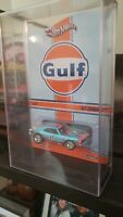 5(FIVE) PROTECH Display Acrylic Cases Hot Wheels-RLC-GULF-SERIES 11-Real Riders