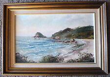 Flynn's Beach Port Macquarrie Original Painting John Hingerty 1978