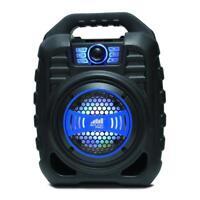 Naxa NDS-5000 5.25-inch ireless Bluetooth Portable LED Party Speaker