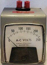 Vintage General Electric Rectifier Type Panel Meter