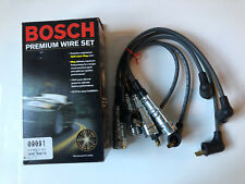 Audi 4000 80 90 Vw Fox Bosch 09091 Spark Plug Wires With Coil Wire