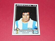 100 GALLEGO 1978 ARGENTINA 78 FOOTBALL PANINI WORLD CUP STORY 1990 SONRIC'S