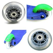 MINI MICRO SCOOTER WHEEL REAR / BACK  ABEC-7 608zz BEARINGS FITTED 80mm GREY