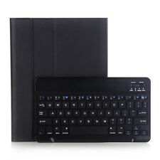 Ultra-Thin Bluetooth Keyboard Leather Case For New iPad 5 Air Mini 1 2 Pro 10.5""