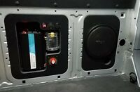 Solid Insert Panel or Subwoofer mounting panel for Ford Transit Vans