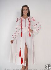 Ukrainian boho embroidered long dress, bohostyle, vyshyvanka, 4 models