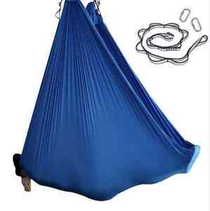 Nylon Tricot Aerial Yoga Swing Hammock Silk SET for Inversion Yoga Color Options