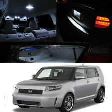 For 08-Up Toyota Scion Xb White LED Bulb Interior Package Map Dome Trunk Plate