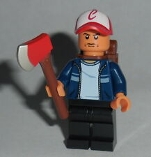T.V. #16 Lego The Walking Dead - Glenn w/axe zombie face Custom Genuine Lego