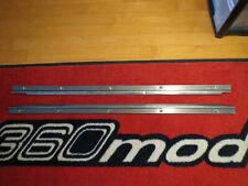 Alfa Romeo GTV-6 STAINLESS STEEL DOOR SILLS + 10 NEW STAINLESS SRCEWS Alfetta