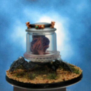 Painted Reaper BONES Miniature Brain in a Jar
