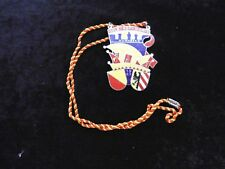Karnevalsorden ** Gelb Rot Noris Nürnberg ** 1967
