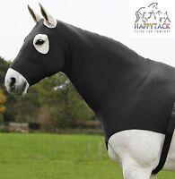 New Waldhausen Black Comfort Hood Stretch Neck Cover Pony Cob Full Zip 818401