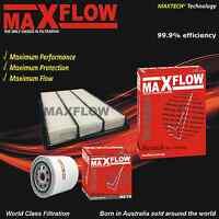 Maxflow® Suit Mitsubishi Pajero NW Petrol V6 3.8 6G75 Air Oil Filter Service Kit