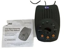 At&T Digital Answering System With 3 Mailboxes Model 1726