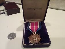 Veterans of foreign wars gold medal 14k gold not marked tests 14k B.F. Moore N.Y