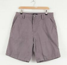 Vintage Nautica Men's Grey Casual Chino Shorts W32 L20