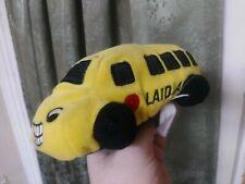 Super Rare Ganz Stuffed Plushie Laidlaw Schoolbus Bus Collectible Toy Vintage