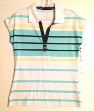 Tail Cap-Sleeve Golf Shirt-Small