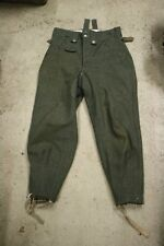 Movie Prop from Epic Estonian Movie 1944 WW2 German Waffen-SS M43 Wool Trousers